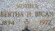 Bertha H. <I>Kamis</I> Bican