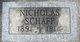 Nicholas Schaff