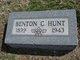 Profile photo:  Benton C. Hunt