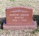 Profile photo:  Dorothy <I>Greene</I> Bostick