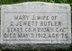 Mary Jane <I>Johnson</I> Butler