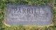 """Bernard Allen """"Bernie"""" Parrill"""