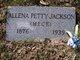 """Profile photo:  Allena Mae """"Lena"""" <I>Petty</I> Jackson"""