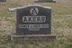 """Profile photo:  Homer J. """"Junior"""" Akers, Jr"""