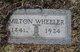Milton J. Wheeler