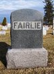 Profile photo:  John Fairlie, Sr