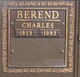 Profile photo:  Charles Berend
