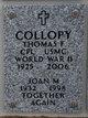Profile photo:  Thomas Francis Collopy
