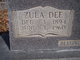 "Profile photo:  Zula Dee ""Aunt Dude"" <I>Moyers</I> Carpenter"