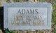 Infants Adams