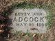 Profile photo:  Betty Ann Adcock