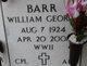 "William G ""Bill"" Barr"