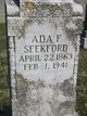 Profile photo:  Ada F <I>Phillips</I> Seekford