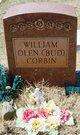 """Profile photo:  William Olen """"Bud"""" Corbin"""