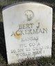 Bert J Ackerman