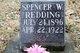 Spencer W. Redding