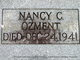 "Nancy Clementine ""Cricket"" <I>Wright</I> Ozment"
