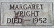 "Margaret Adeline ""Mamie"" Wright"