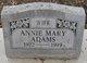 Annie Mary Adams