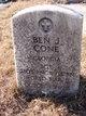 Profile photo:  Ben J Cone