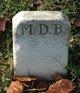 M. D. B.