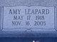 Profile photo:  Amy Leona <I>Leapard</I> Adams