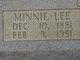 Minnie Lee <I>Parrish</I> Yon