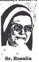 "Sr Rosalia ""Dominican Sister"" Paulus"