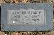 Profile photo:  Albert Benge