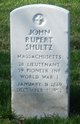 Profile photo:  John Rupert Shultz