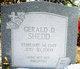Gerald D. Shedd