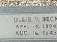 Ollie Vivan Beck