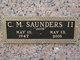 "Profile photo:  C. M. ""Jack"" Saunders"