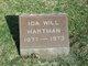 Profile photo:  Ida Florence <I>Will</I> Hartman