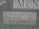 Walter N. McNabb