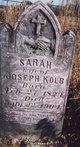 "Rebecca D. ""Sarah"" <I>Adare</I> Kolb"