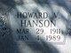 Howard V. Hanson
