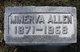 Profile photo:  Minerva <I>Wholf</I> Allen