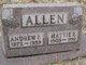 Profile photo:  Hattie E. Allen