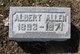 Profile photo:  Albert S. Allen