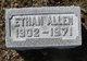 Profile photo:  Ethan B. Allen