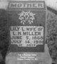 Lily L <I>Barnhart</I> Miller