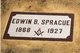 Edwin Bruce Sprague, Jr
