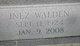 Inez A. <I>Walden</I> Whitfield