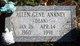 """Profile photo:  Allen Gene """"Dean"""" Ankney"""