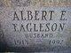 Profile photo:  Albert F. Eagleson