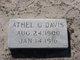 Athel G Davis