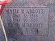 Pvt Wylie Harrison Abbott