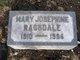 Mary Josephine Ragsdale