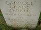 Carroll Grady Parker